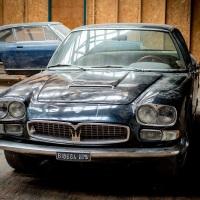 Black tie: 1967 Maserati Quattroporte