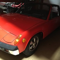 Arizona red: 1970 Volkswagen-Porsche 914-6