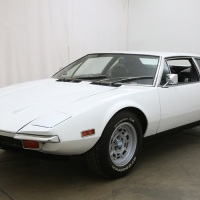 Black and white: 1971 De Tomaso Pantera