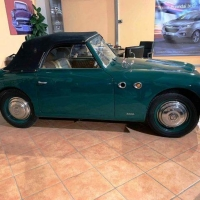 Little green roadster: 1949 Siata Amica Trasformabile