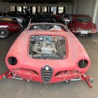 Barely 1,100: 1965 Alfa Romeo Giulia Spider Veloce