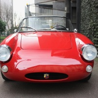 Red rascal: 1958 Abarth 750 Spyder by Allemano