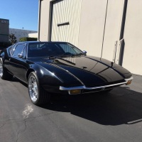 Pitch-black: 1972 De Tomaso Pantera