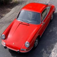 Euro orange: 1970 Porsche 911 E 2.2 Coupé