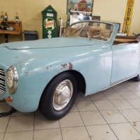 Flash inside: Simca 8 Cabriolet by Pininfarina