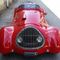 Red copy: 1953 Simca Gordini Barchetta replica