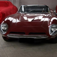 Burgundy recreation: 1964 ISO A3C Replica