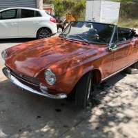 Rare car, rare color: 1973 Fiat 124 Spider CS1