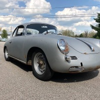 Patina monster/4: 1962 Porsche 356 T6 Coupé
