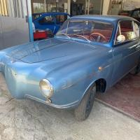 Little blue special: 1955 Fiat 600 Rendez Vous by Vignale