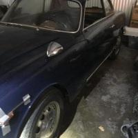Bluette 101: 1961 Alfa Romeo Giulietta Sprint Veloce