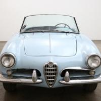 Snake seats: 1957 Alfa Romeo Giulietta Spider