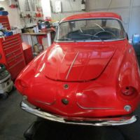 Small and red: 1958 Fiat 600 Coupé by Viotti
