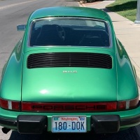 Buried emerald: 1975 Porsche 911 S