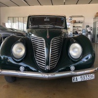 A special one: 1939 Fiat 1500 6C Trasformabile by Viotti