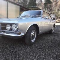 Silver and red: 1968 Alfa Romeo 1750 GT Veloce