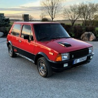 Red shift: 1985 Innocenti Mini De Tomaso Turbo
