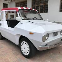 "Beach Tank: 1974 Fiat 500L ""Tilly"" by Baldi"