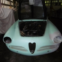 Blue project: 1958 Alfa Romeo 1900C SS by Touring