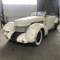Pre-war roar: 1937 Cord 812 SC Convertible Phaeton