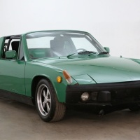 Green six: 1970 VW-Porsche 914-6