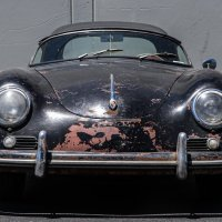 Just enough scraped: 1957 Porsche 356 A Speedster