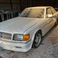 Pre-merger: 1984 Mercedes-Benz 500 SEC AMG