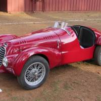 Britaly: 1953 Arnolt-MG Convertible + 1948 Siata SC 750 by Motto