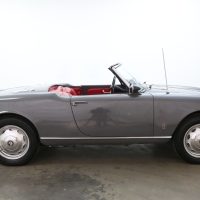 The graphite one: 1959 Alfa Romeo Giulietta Spider Veloce