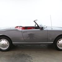 The graphite one: 1959 Alfa Romeo Giulietta Spider Veloce