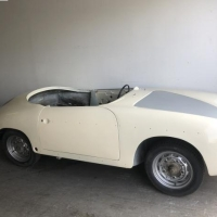 White bathub: 1960 Porsche 356B T5 Roadster