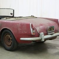 Recent inside: 1959 Alfa Romeo 2000 Spider by Touring