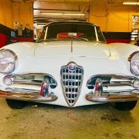 Older resto: 1959 Alfa Romeo Giulietta Spider Veloce