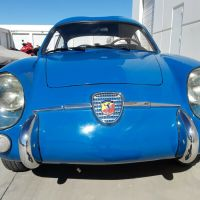 Blue outside/2: 1958 Abarth 750 GT by Zagato