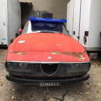 Almost red: 1972 Alfa Romeo Gt Junior by Zagato