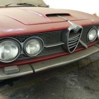 Ready for treatment: 1963 Alfa Romeo 2600 Sprint