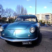 Rare bird: 1956 Fiat 600 Coupé by Monterosa
