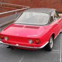 Black over red: 1968 Simca 1200S Coupé by Bertone