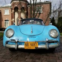 Baby blue: 1959 Porsche 356 Roadster by Drauz