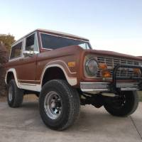 Not abused: 1973 Ford Bronco