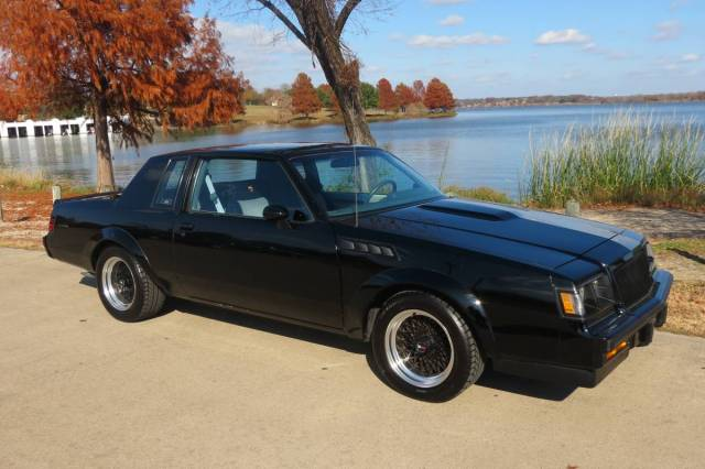 Masculine imperfection: 1987 Buick Grand National GNX ...