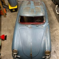 74,917 Original miles: 1961 Porsche 356B T5 Coupé