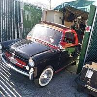 California (little) dreaming: 1959 Autobianchi Bianchina Trasformabile