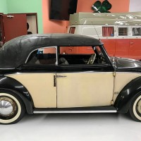 Clean cab: 1950 Volkswagen Beetle Cabriolet