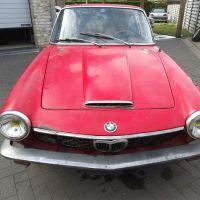 Rosso corsa: 1969 BMW 1600 GT by Frua