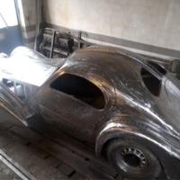 The challenge: 1935 Bugatti 57 SC Atlantic recreation