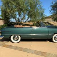 Perfect green: 1951 Ford Custom Convertible