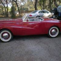 Welcome, Quinn: 1953 Sunbeam Alpine MKI