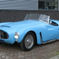 The pale blue twin: 1955 Moretti 1200 Sport