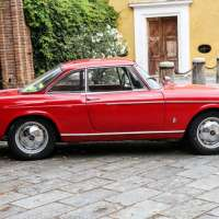 Little red coupé: 1964 Fiat 1500S OSCA Coupé by Pininfarina